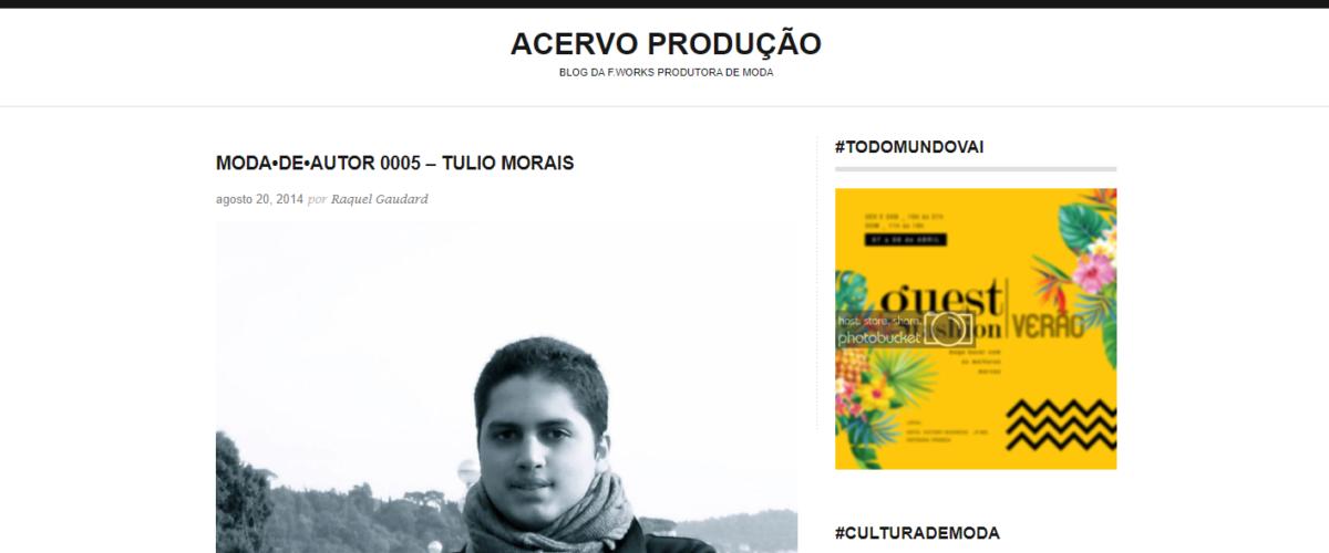 Acervo Produção – MODA•DE•AUTOR 0005 – TULIO MORAIS