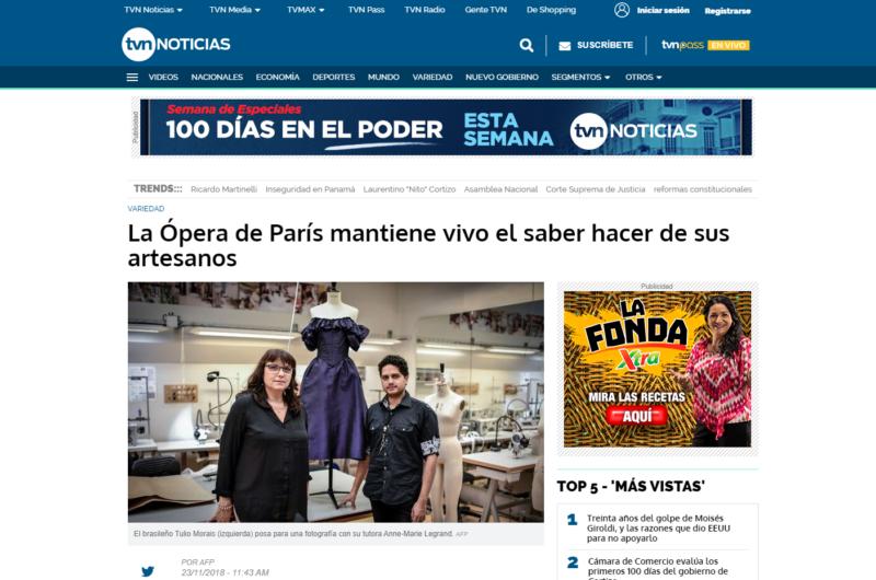 TVN Noticias – La Ópera de París mantiene vivo el saber hacer de sus artesanos